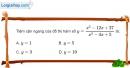 Bài 1.53 trang 25 SBT giải tích 12