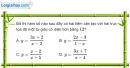 Bài 1.55 trang 25 SBT giải tích 12