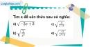 Bài 12 trang 7 SBT toán 9 tập 1