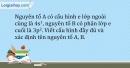 Bài 4.14 trang 11 SBT Hóa học 10