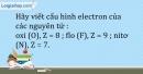 Bài 5.13 trang 13 SBT Hóa học 10