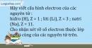 Bài 5.15 trang 14 SBT Hóa học 10
