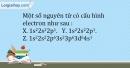 Bài 6.7 trang 15 SBT Hóa học 10