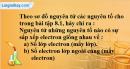 Bài 8.2 trang 10 SBT hóa học 8