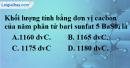 Bài 9.5 trang 13 SBT hóa học 8