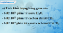 Bài 9.6* trang 13 SBT hóa học 8