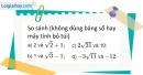 Bài 5 trang 6 SBT toán 9 tập 1