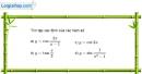 Bài 1.1 trang 12 SBT đại số và giải tích 11
