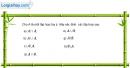 Bài 1.26 trang 14 SBT đại số 10