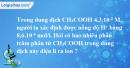 Bài 1.7* trang 4 SBT hóa học 11