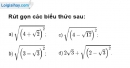 Bài 14 trang 7 SBT toán 9 tập 1