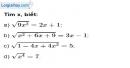 Bài 17 trang 8 SBT toán 9 tập 1