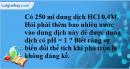 Bài 3.8 trang 6 SBT hóa học 11