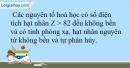 Bài 7.10 trang 18 SBT Hóa học 10