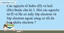 Bài 7.6 trang 18 SBT Hóa học 10