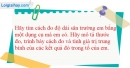 Bài 1-2.6 trang 6 SBT Vật lí 6