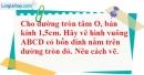 Bài 15 trang 102 SBT toán 9 tập 2