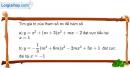 Bài 1.58 trang 36 SBT giải tích 12