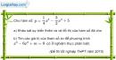 Bài 1.60 trang 36 SBT giải tích 12