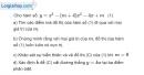 Bài 1.63 trang 37 SBT giải tích 12
