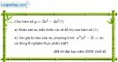 Bài 1.64 trang 37 SBT giải tích 12