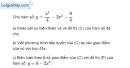 Bài 1.65 trang 37 SBT giải tích 12