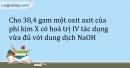 Bài 1.7 Trang 4 SBT Hóa học 9