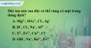 Bài 4.4 trang 7 SBT hóa học 11
