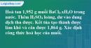 Bài 4.9 trang 7 SBT hóa học 11