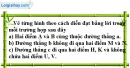 Bài 1.1 phần bài tập bổ sung trang 121 SBT toán 6 tập 1