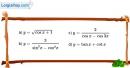Bài 1.2 trang 12 SBT đại số và giải tích 11
