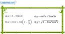 Bài 1.3 trang 12 SBT đại số và giải tích 11