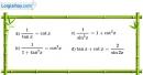 Bài 1.4 trang 13 SBT đại số và giải tích 11