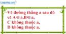 Bài 3 trang 121 SBT toán 6 tập 1
