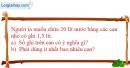 Bài 3.12 trang 11 SBT Vật lí 6