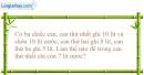 Bài 3.13 trang 11 SBT Vật lí 6