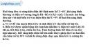Bài 11.2 trang 31 SBT Vật lý 9