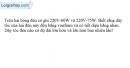 Bài 12.4 trang 35 SBT Vật lý 9