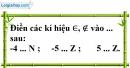 Bài 2.2 phần bài tập bổ sung trang 69 SBT toán 6 tập 1