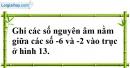 Bài 4 trang 66 SBT toán 6 tập 1