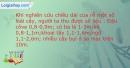 Bài 1 trang 13 SBT Sinh học 11