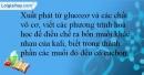 Bài 5.13 trang 13 SBT Hóa học 12
