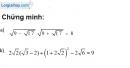 Bài 26 trang 9 SBT toán 9 tập 1