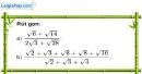 Bài 27 trang 9 SBT toán 9 tập 1