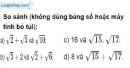 Bài 28 trang 9 SBT toán 9 tập 1
