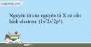 Bài 8.16 trang 21 SBT Hóa học 10
