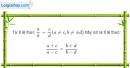 Bài 3 trang 110 Vở bài tập toán 7 tập 2