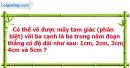 Bài 63 trang 103 Vở bài tập toán 7 tập 2