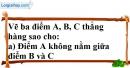 Bài 10 trang 123 SBT toán 6 tập 1
