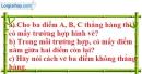 Bài 11 trang 123 SBT toán 6 tập 1